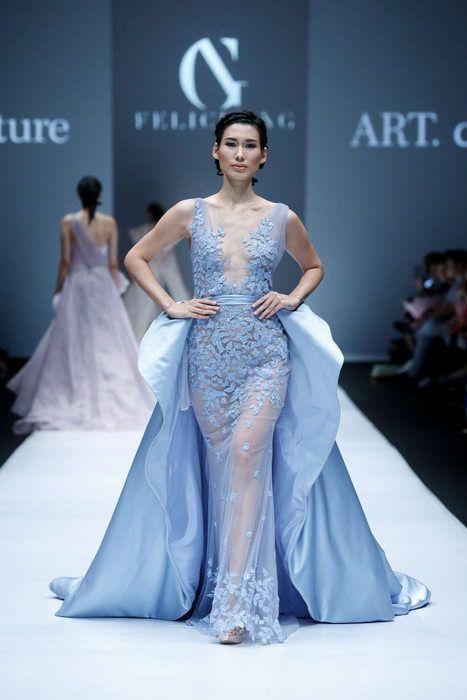 Yusi Irawati Printemps Ete 2017 Jakarta Wedding Robes Haute