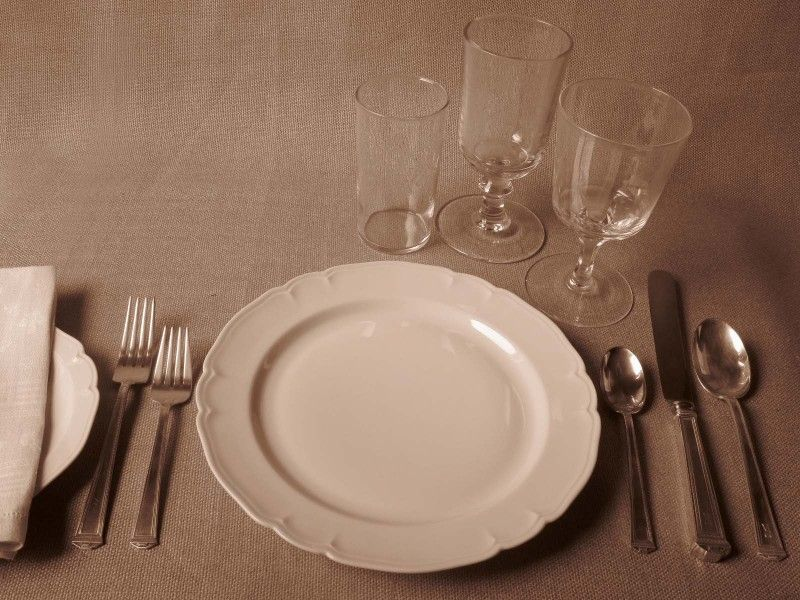 Utensils: Forks, spoons and knives are common utensils used during ...