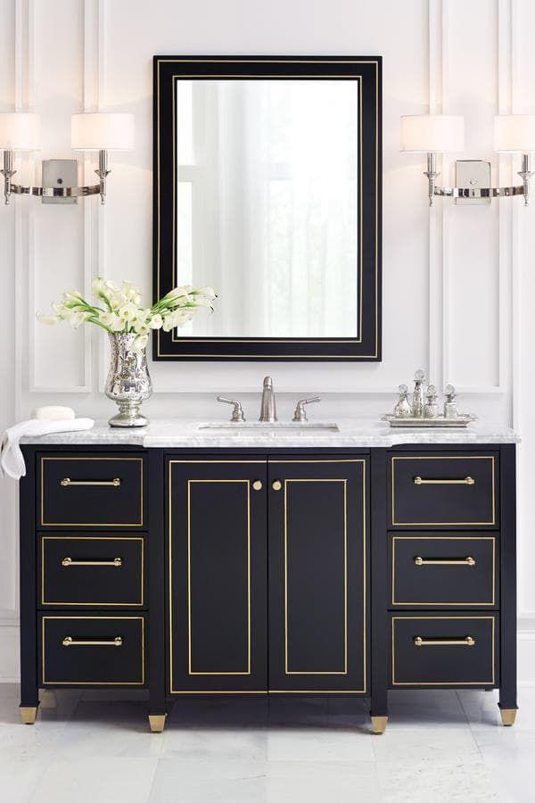 Home depot vanities for bathrooms | Guest bathroom | Salle de Bain ...