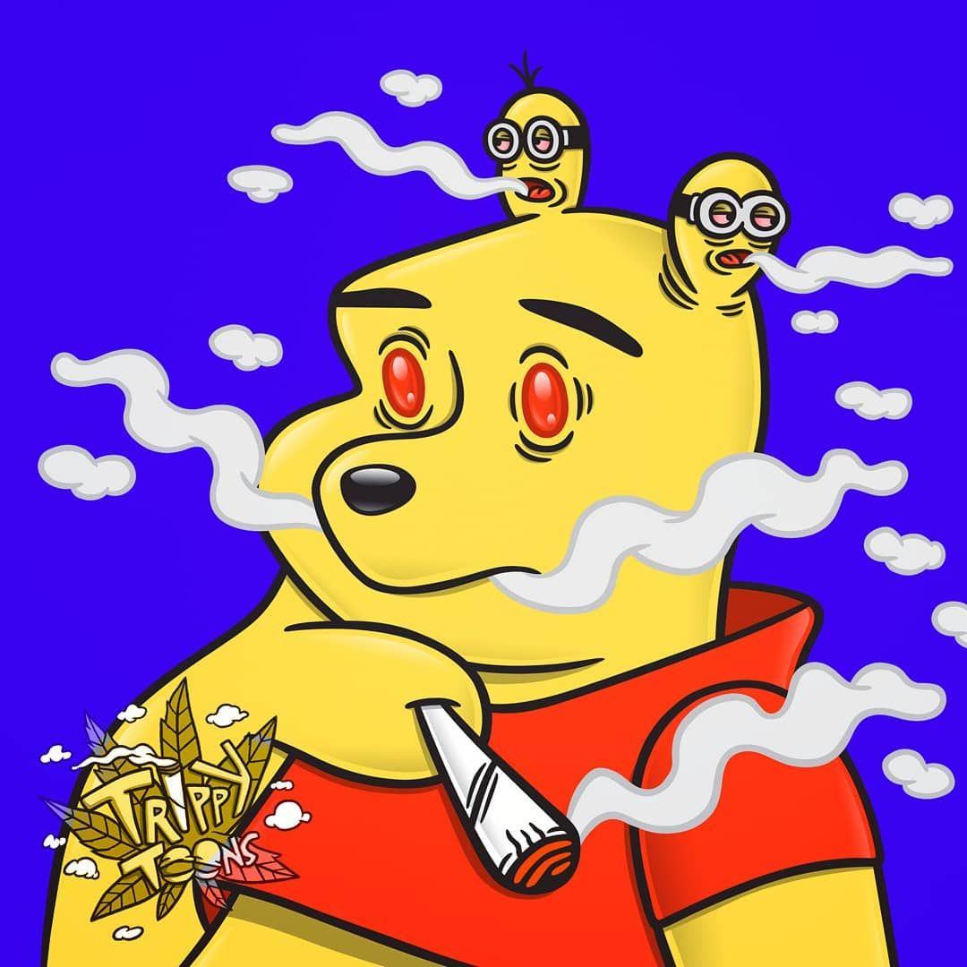 Trippy Cute : Cartoon Characters Trippy Smoking Cartoon