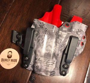 Cz p10c kryptek raid kydex sidecar holster iwb appendix camo