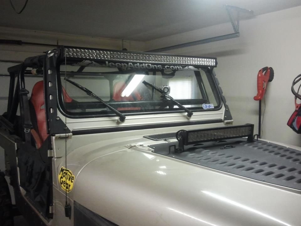 Introducing Hmf Fabrication Led Light Bar Mounts For Cj Yj Jeep