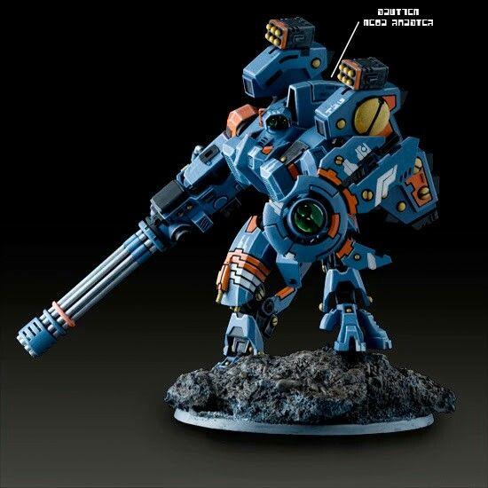 Warhammer 40k Tau Riptide