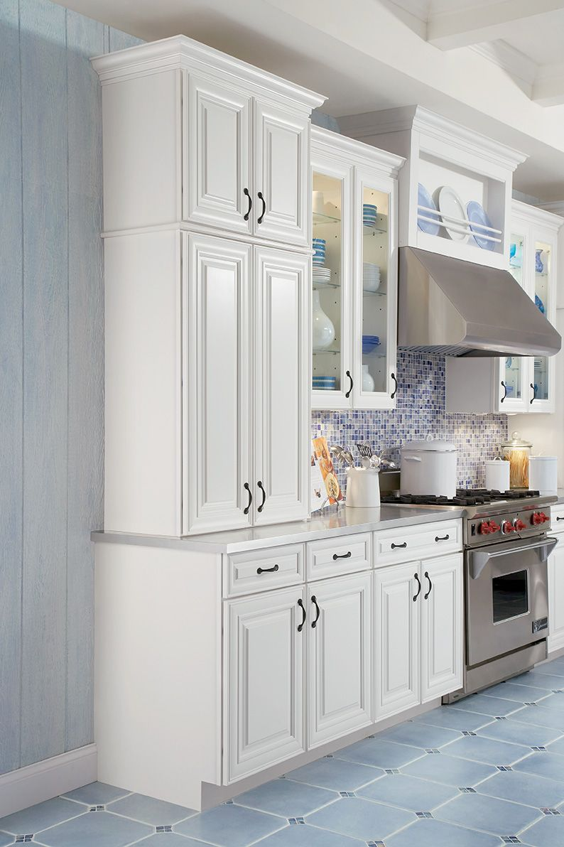 Cabinet stacks place different sized cabinets on top of one another
