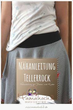 Photo of Wie man einen Tellerrock näht – Nähtutorial ⋆ Mamahoch2