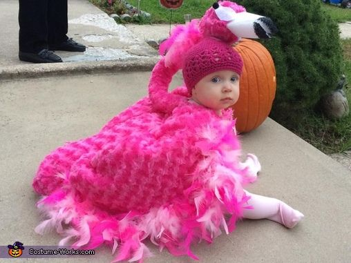 kathleen i made this costume for my 9 month old baby girl it is all homemade i love halloween and my mother always made our costumes