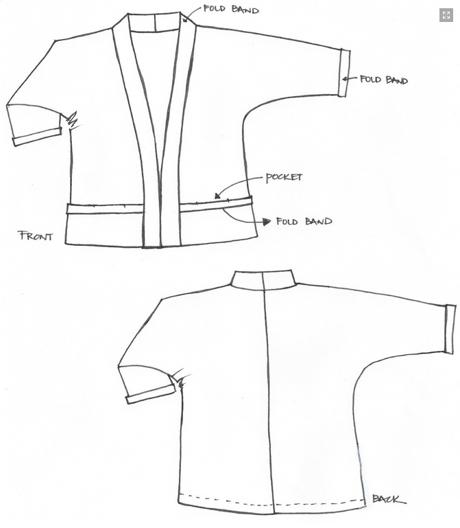 kimono jacket pattern - Google Search   Cosplay   Pinterest