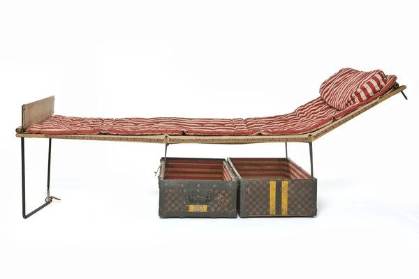 1905 The Louis Vuitton Trunk Bed.