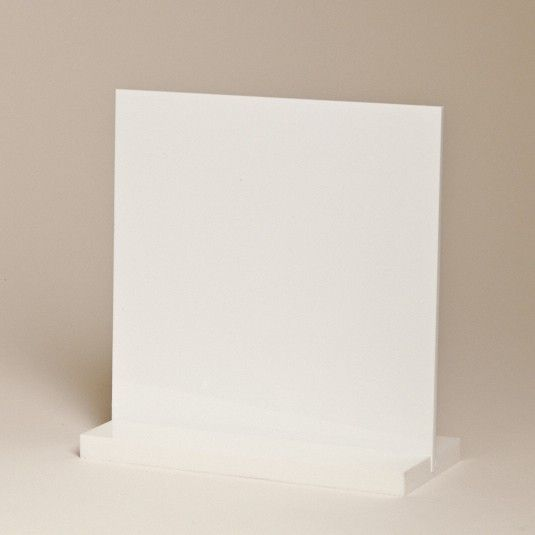 White Acrylic Sheet | Exhibition Booth Design Ideas from