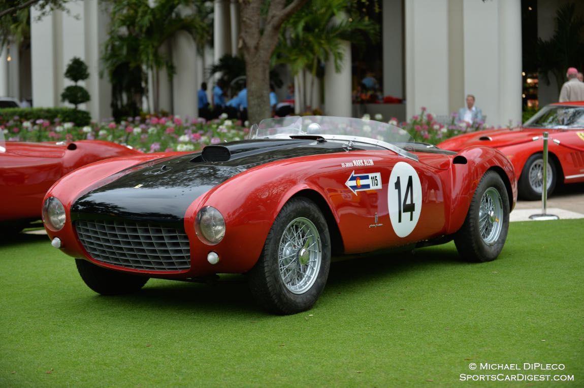 1954 Ferrari 375 MM PF Spider Serial No. 0362/0374 AM.