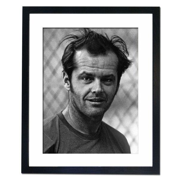 Jack Nicholson 75 Framed Print