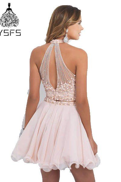Light pink beaded cheap cute th grade short two piece homecoming dresses also rh in pinterest
