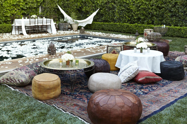 www.zeendesign.com Moroccan party rentals LA, CA for private event LA, CA