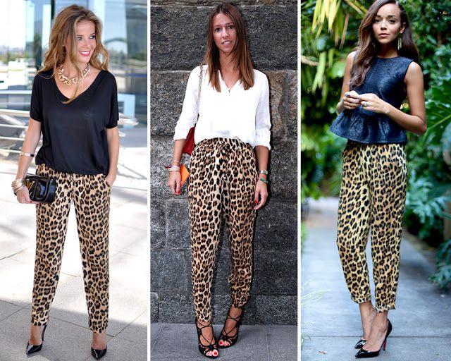Los Pantalones Pijama De Leopardo En Otono Pantalones De Leopardo Pantalones De Pijama Ropa De Animal Print