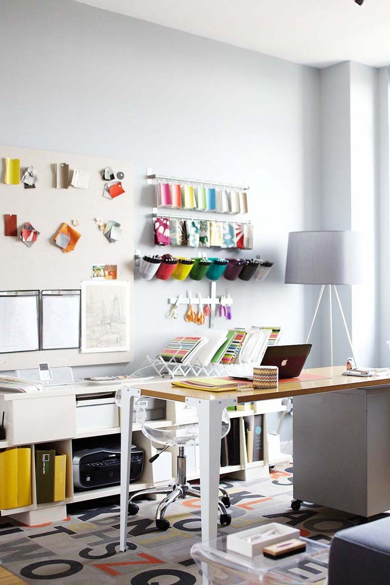 Beautifully Organized: Craft Rooms | Emily anderson, Anniversaries ...