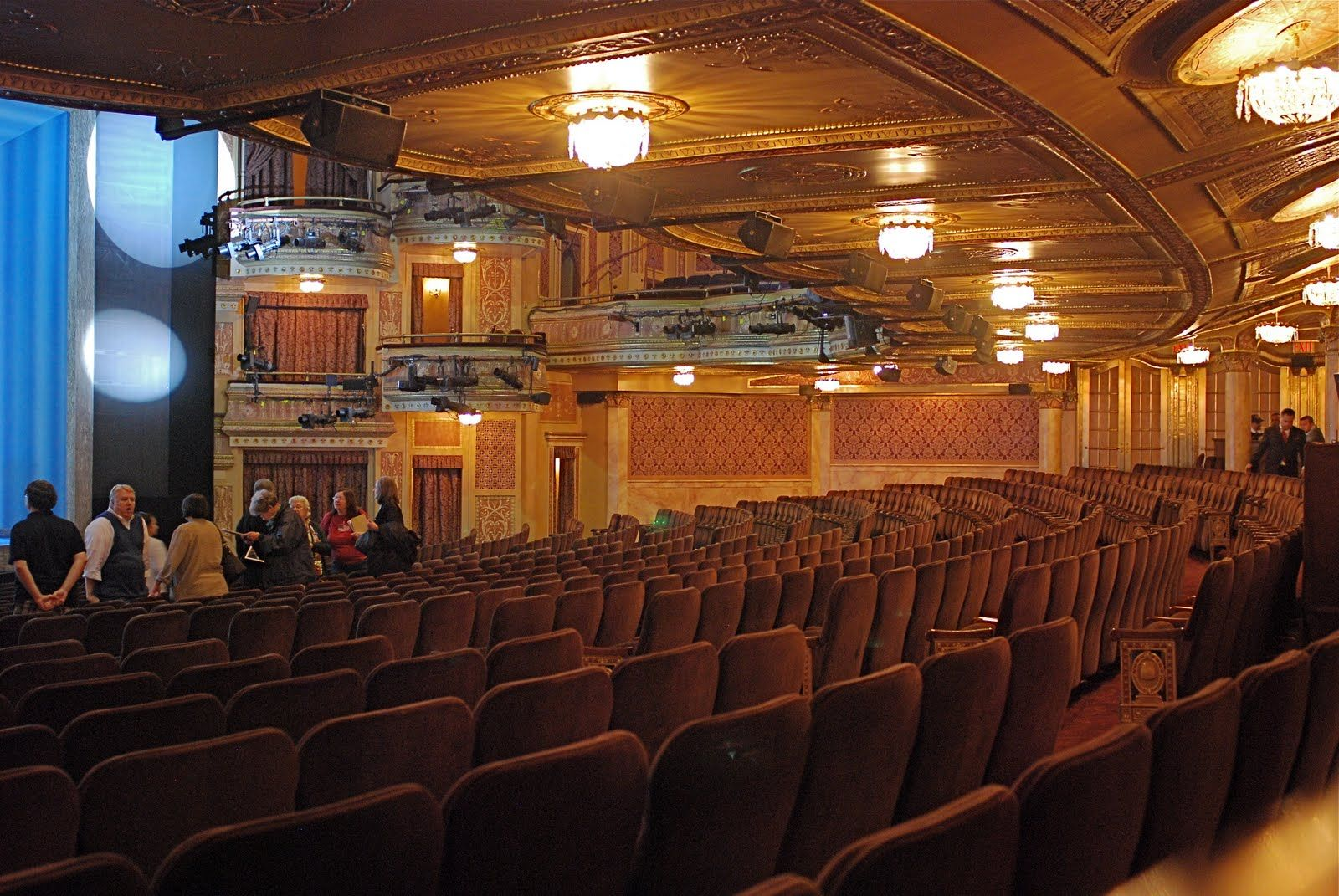 NYC ♥ NYC: Broadway Open House: Winter Garden Theatre (Mamma Mia ...