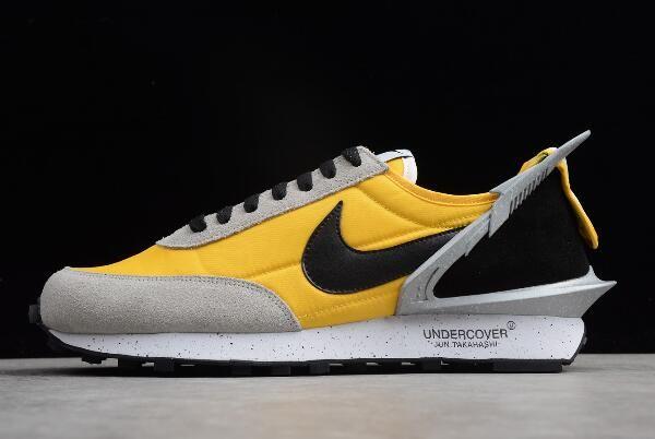 on sale d5d5b 0e144 Undercover x Nike Waffle Racer YellowGrey-Black AA6853-007