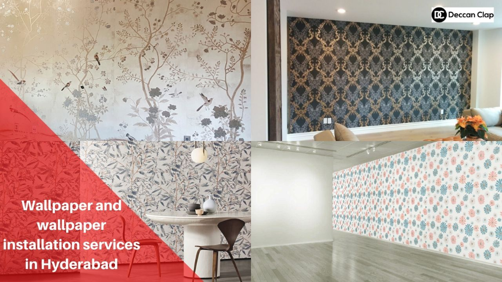 Deccan Clap Provides Wallpaper And Wallpaper Installation Services Offering Interior Exterior Rental Stencil How To Install Wallpaper Old Wallpaper Interior