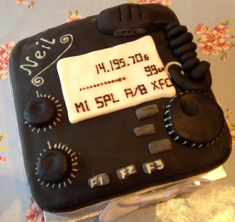 Amateur Radio Sponge Cake Cakes Pinterest Sponge Cake Cake