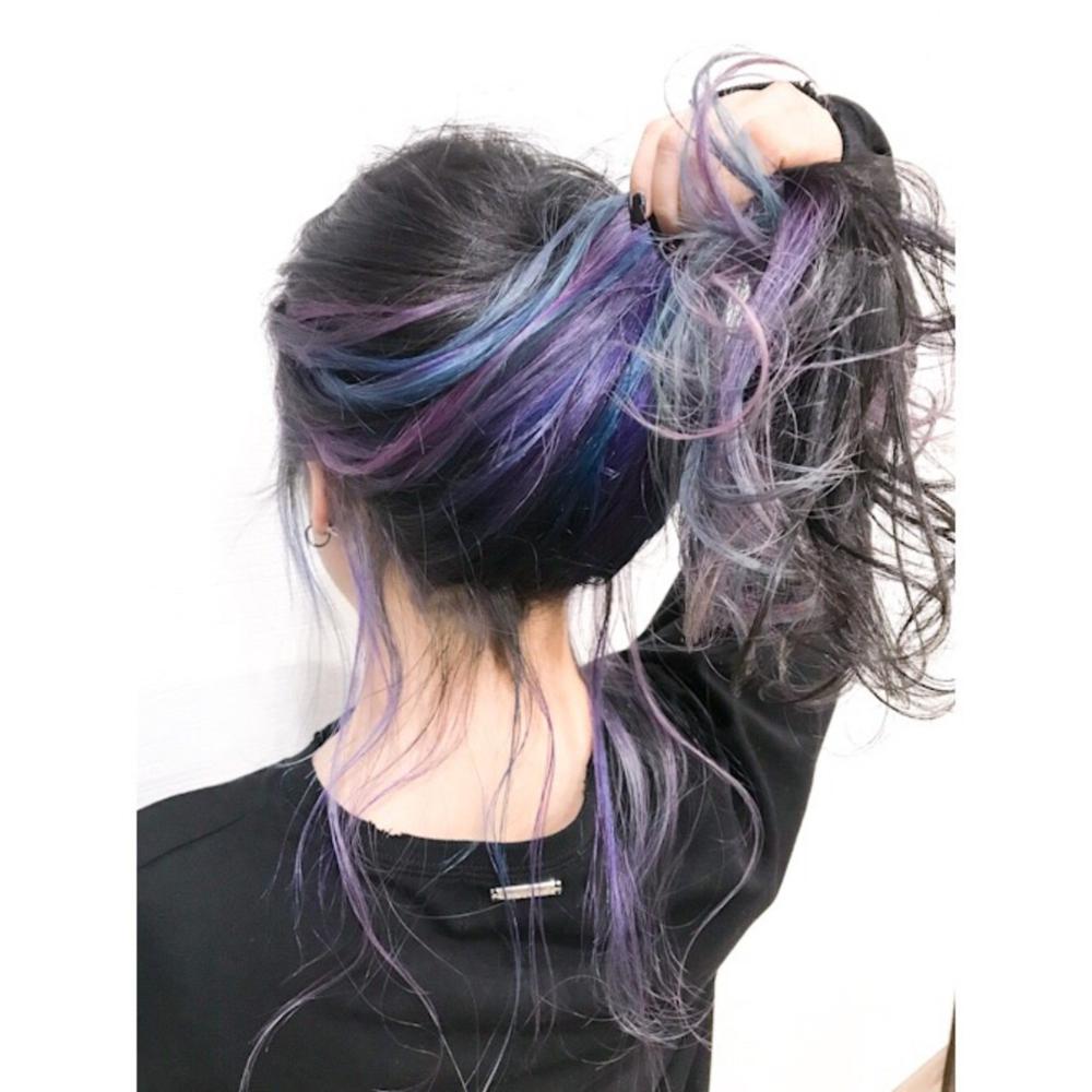 Photo of ユニコーンカラー ブリーチカラー お洒落に ロング×earth 熊谷店×tetsu×457585【HAIR】