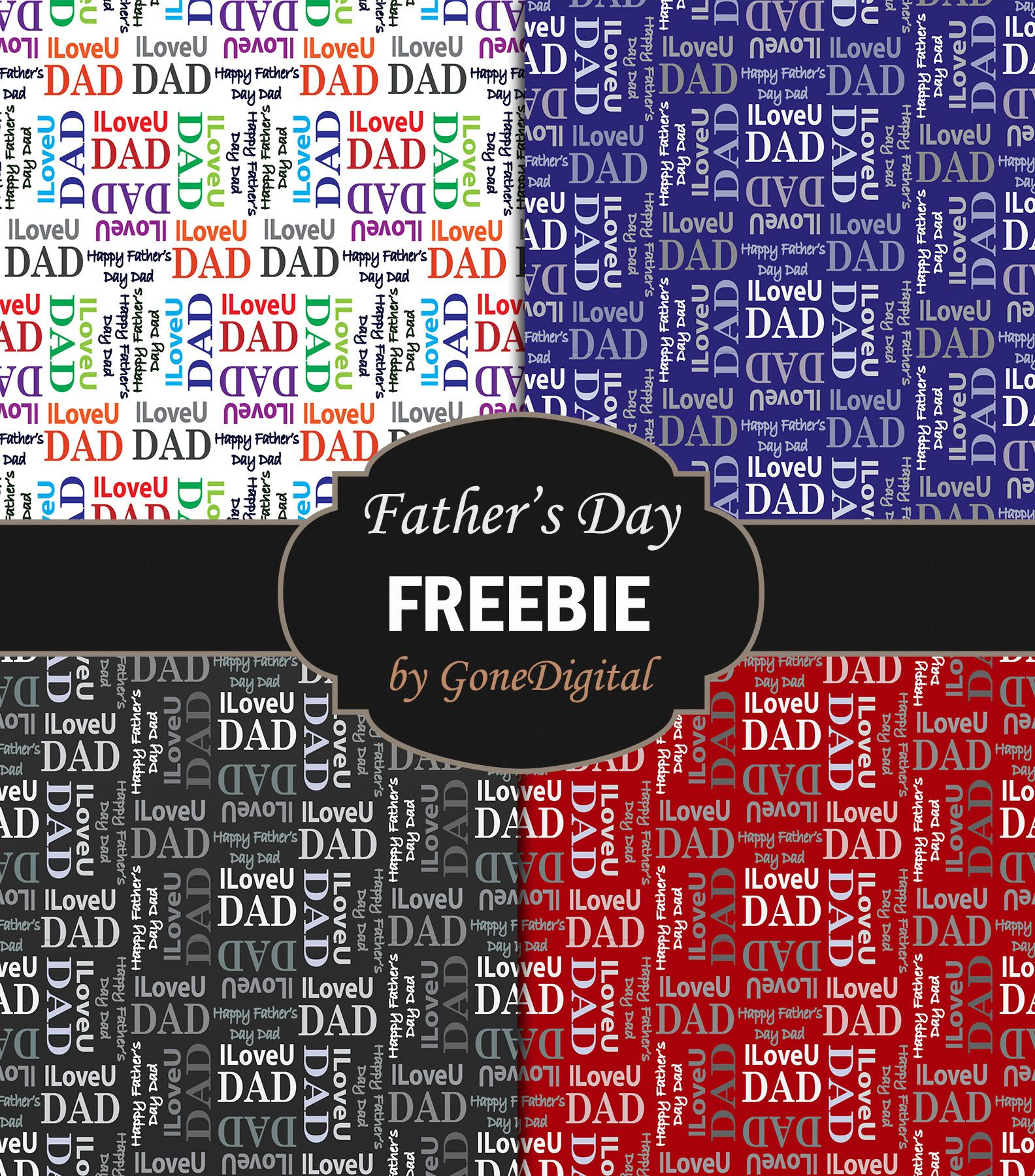 Free Fathers Day Printable Paper Pack  Great For Use