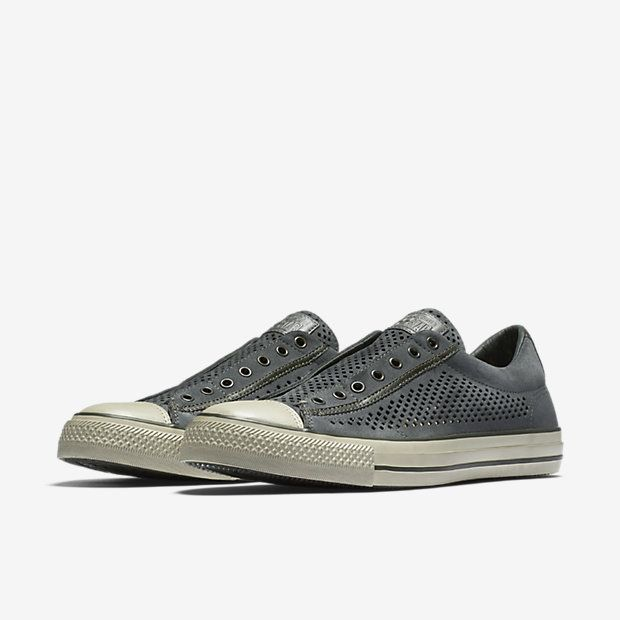 fcc16c7e8e0 ... reduced converse x john varvatos chuck taylor all star perforated  leather slip on unisex shoe d0681