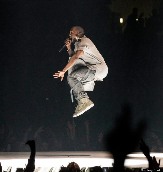 Kanye S Yeezus Tour Don T Even Listen To Me Kanye West Yeezus Yeezus Tour