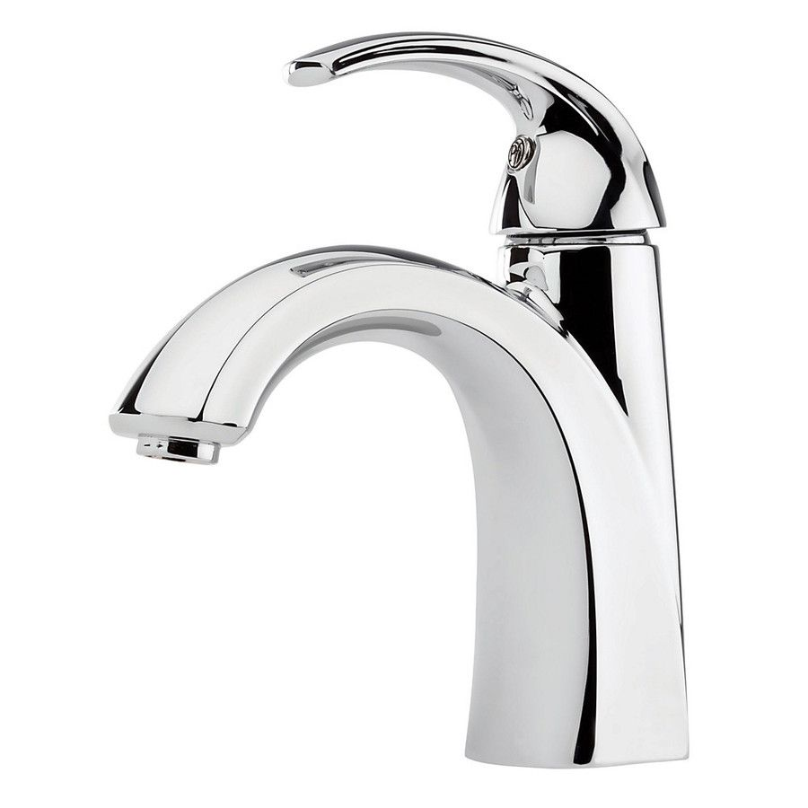 Pfister Selia Polished Chrome 1 Handle 4 In Centerset WaterSense Bathroom  Faucet (Drain