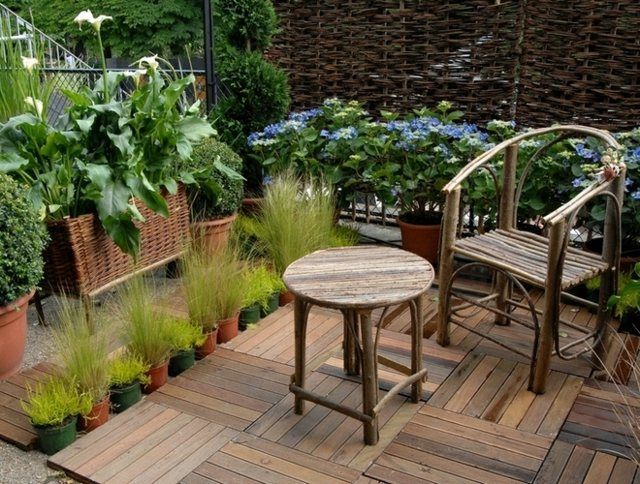 Idee Amenagement Terrasse Exterieur. Finest Idee Amenagement ...