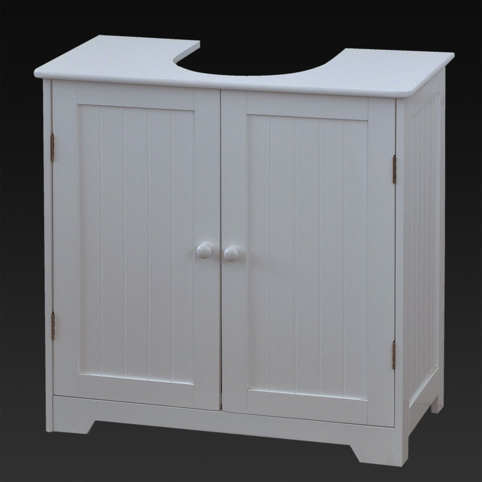 50 White Under Sink Bathroom Storage Cabinet Kitchen Cabinets