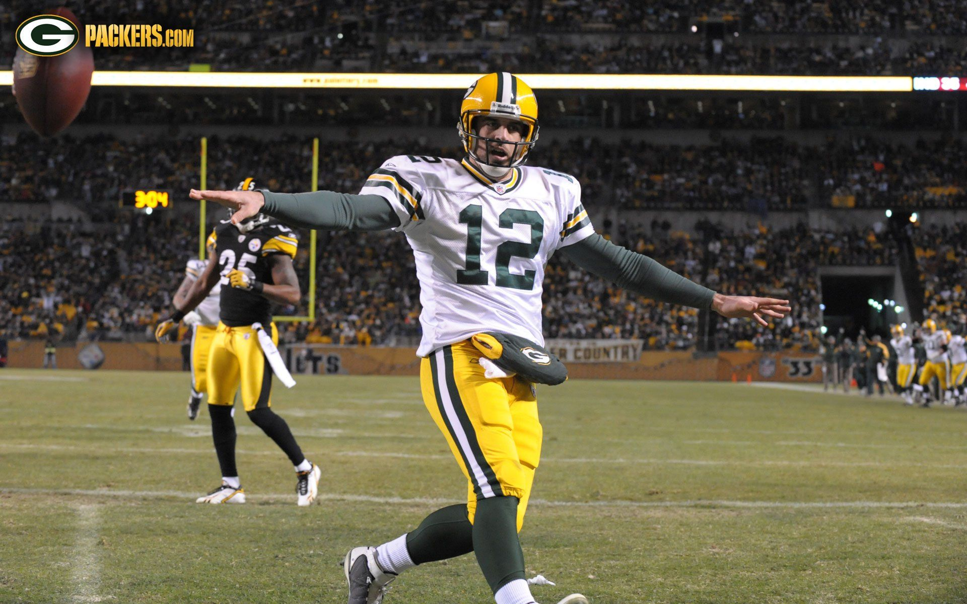 Green Bay Packers images Aaron Rodgers Wallpaper HD wallpaper and | wallpapers | Aaron rodgers ...
