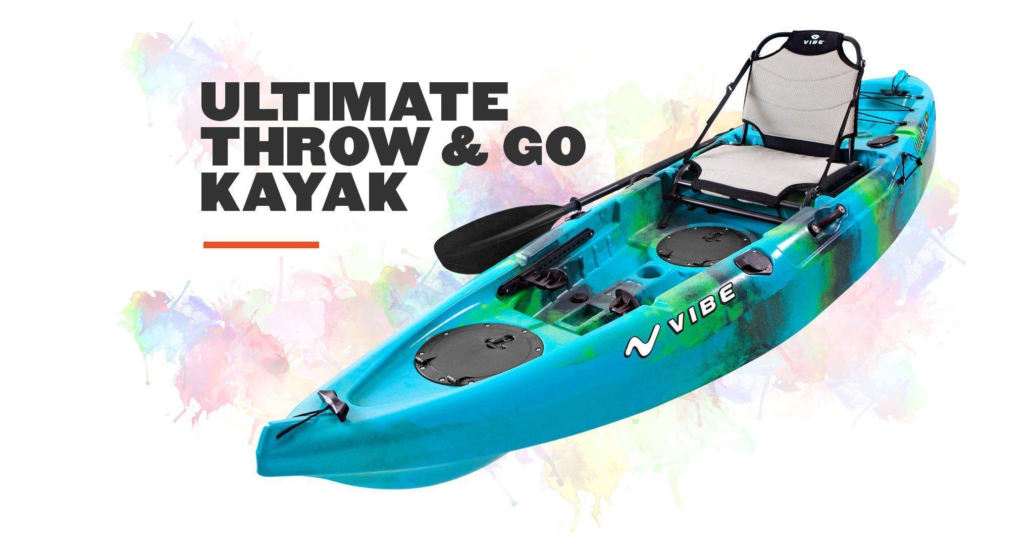 Vibe Yellowfin 100 10 foot sit on top kayak Kayak