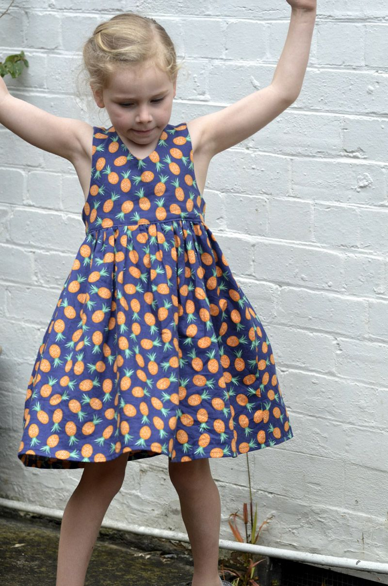 Tadah Tea Party Dress New Pattern Release Toddler Sewing