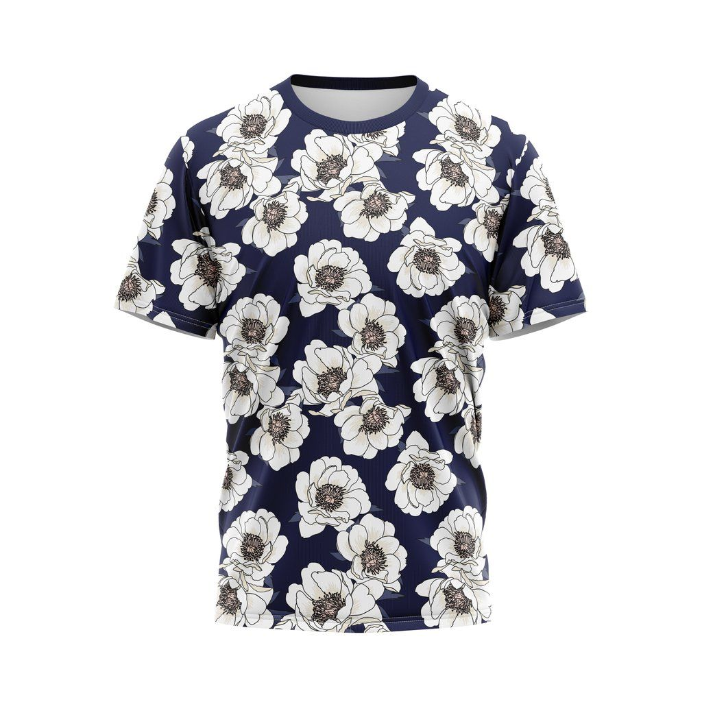Pin By Zuiggy On T Shitrs Shirts White Poppy Floral Tops