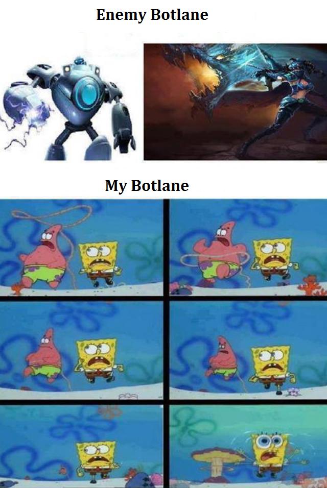 Botlane Against Blitzcrank Vayne Personnage Cartoon Drole Jeux