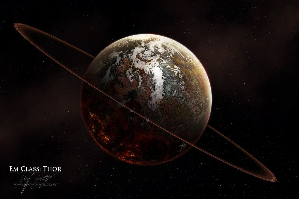Vttp Em Class Thor Planets Planets Art Planets And Moons
