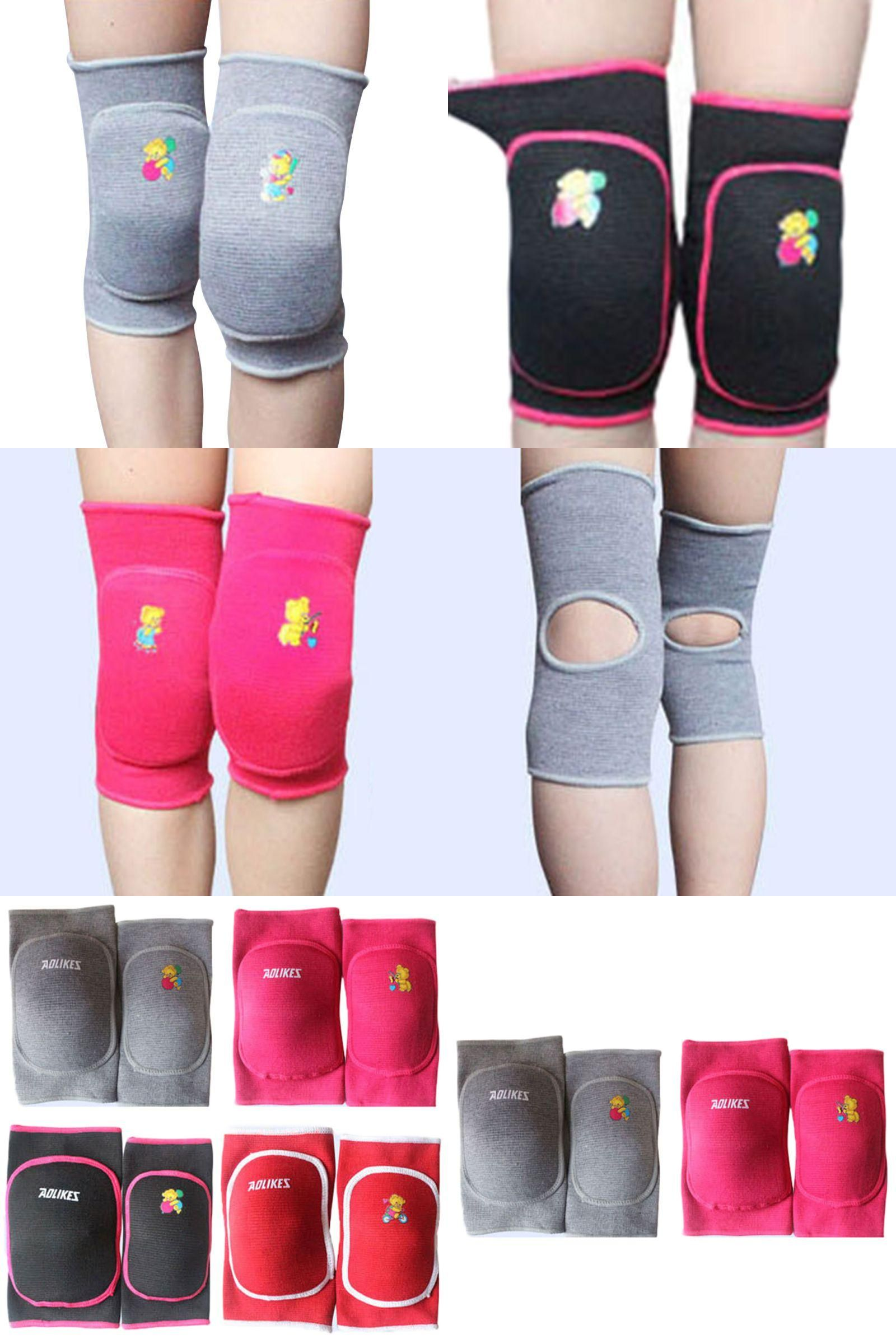 Visit to Buy] Child Boy Girl Kids Knee Pad Dance Training Games