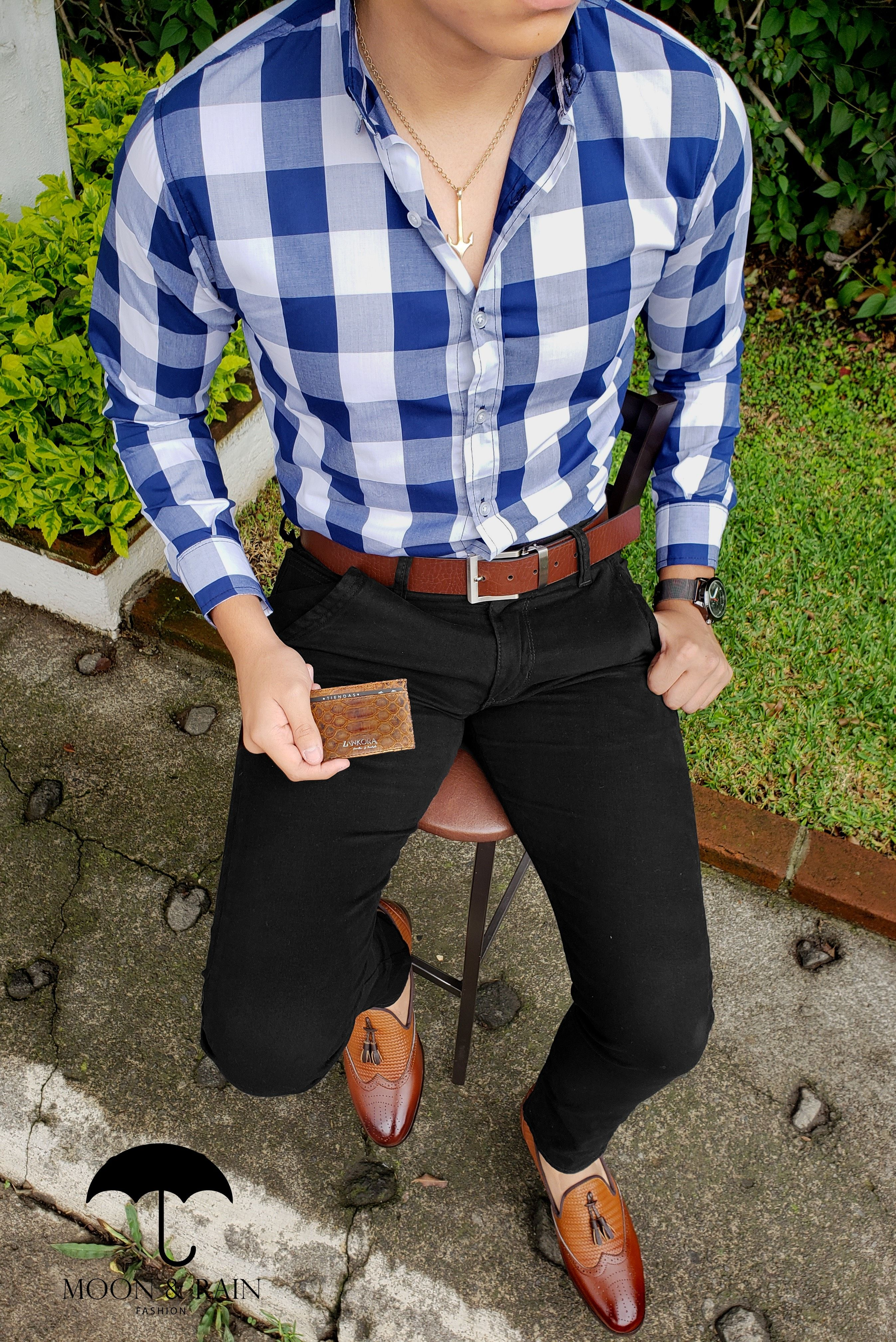 Outfit Casual Pantalon Negro Hombre Ideas De Moda