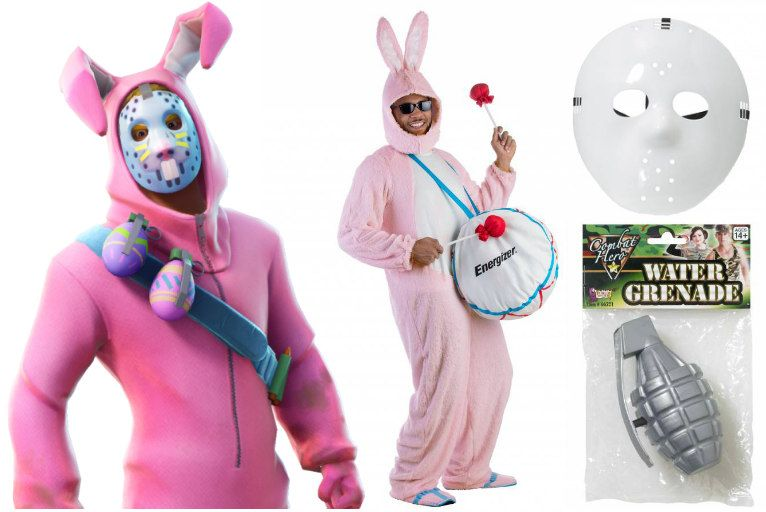 Diy Easy Fortnite Halloween Costumes Halloweencostumes Com Blog Diy Halloween Costumes Easter Bunny Outfits Halloween Costumes