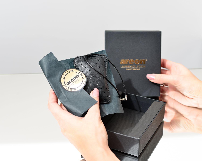 Areon Leather Gold Star To Pomysl Na Wyjatkowy Prezent Nie Tylko