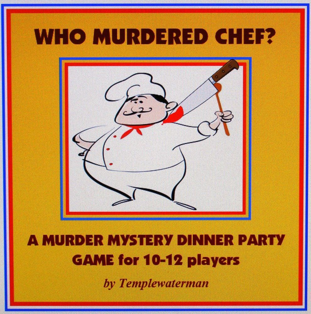 Pin on Mystery Dinner Games