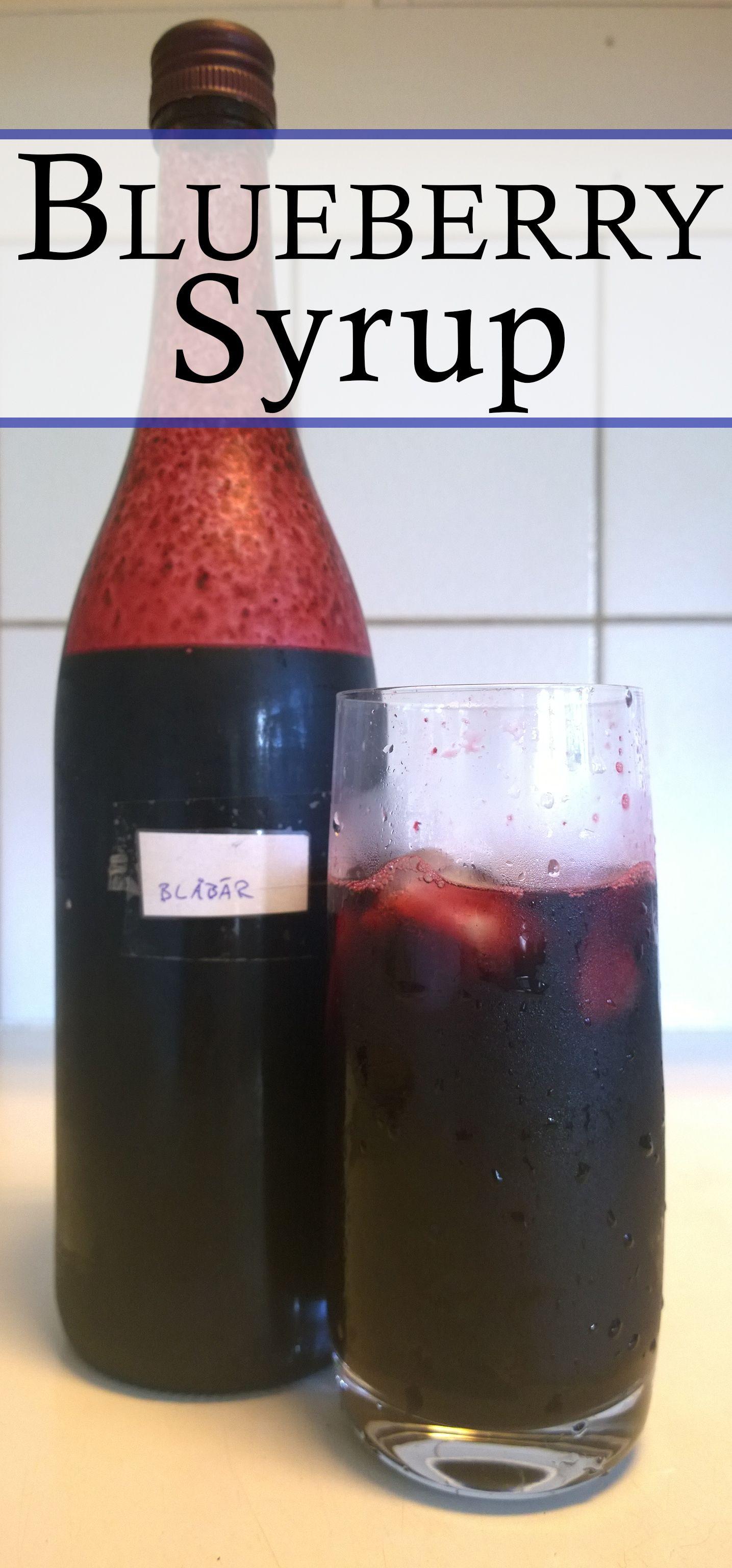 Blueberry syrup blueberry syrup blueberry how to make