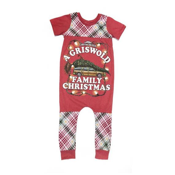 National Lampoon S Christmas Vacation Romper Christmas Rompers