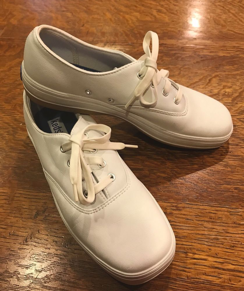 4302016c90 Keds Stretch Off White Lace-up Square Toe Shoe Womens Size 8  fashion   clothing  shoes  accessories  womensshoes  athleticshoes (ebay link)