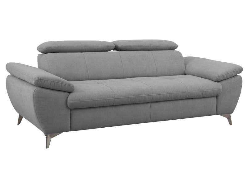 Canape Fixe 3 Places Ally Coloris Gris Pas Cher Canape Conforama Canape Fixe Canape Conforama Canape Fixe 3 Places