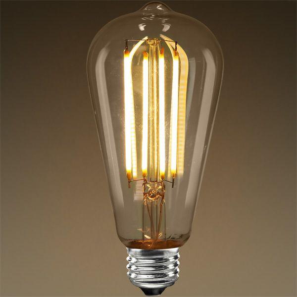 Bathroom Light Fixtures Led Edison Bulb Vertical Filament 5 Watt Image Vintage Light Bulbs Antique Bulbs Edison Bulb