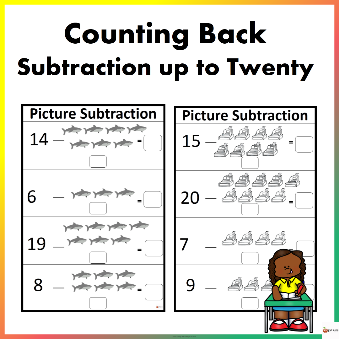 Picture Subtraction Counting Back