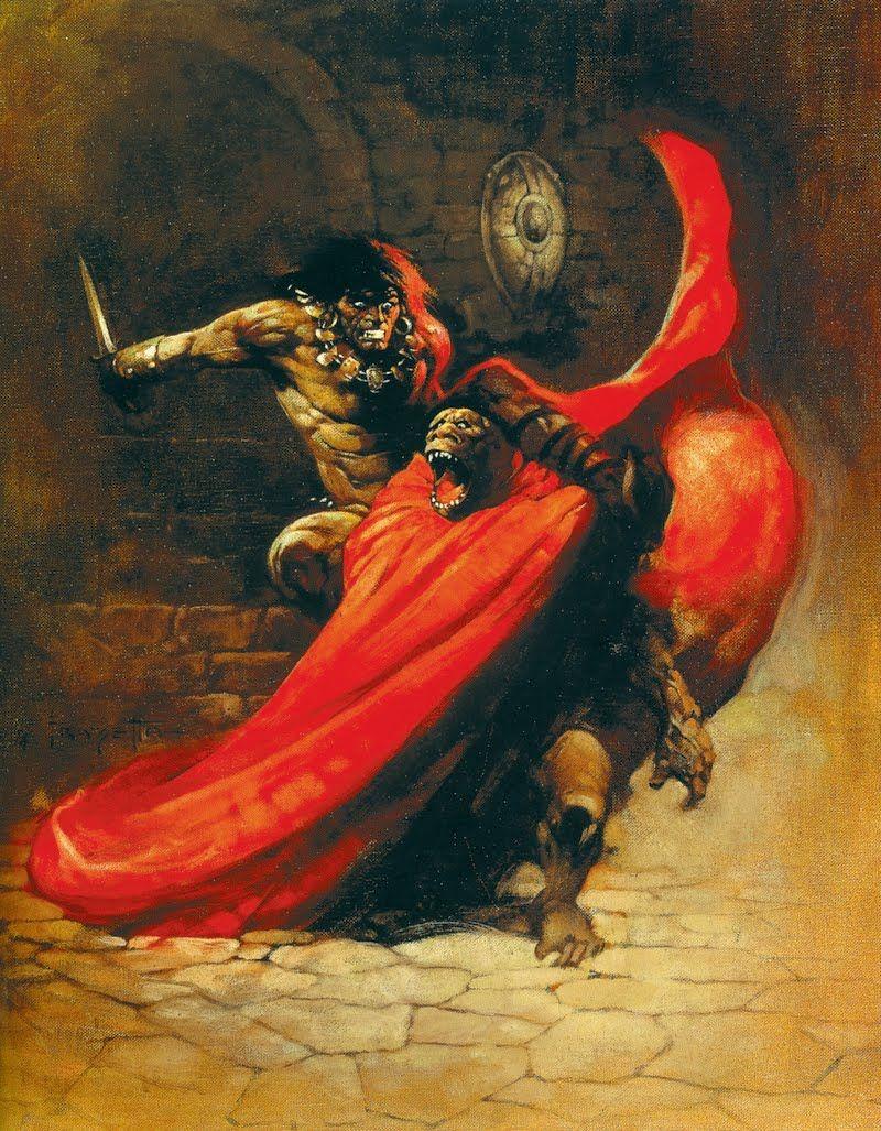 Frazetta - Conan | Conan the Barbarian! | Pinterest