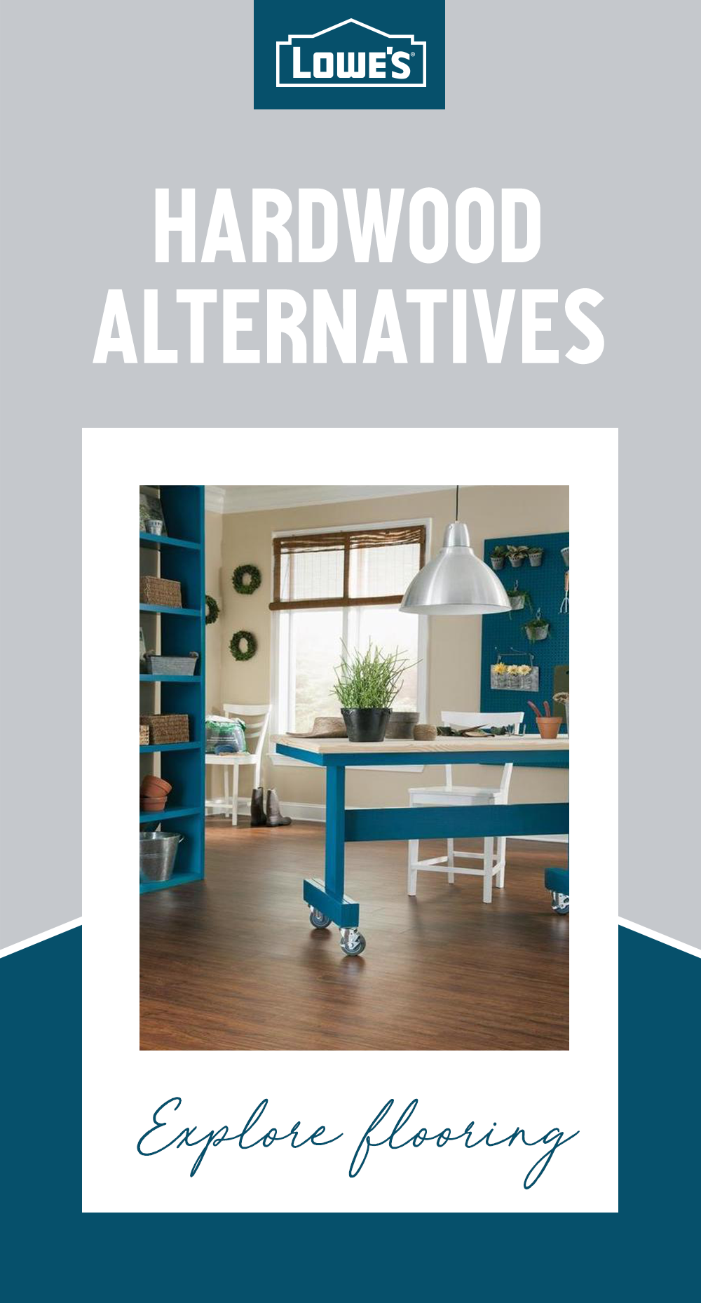 Replace Your Carpet On A Budget With Vinyl Flooring Options From Stainmaster Available At Lowe S These Easy To Flooring Hardwood Alternative Flooring Options