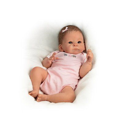 Amazon.com: Baby Doll: Little Peanut Baby Doll by Ashton Drake: Toys & Games